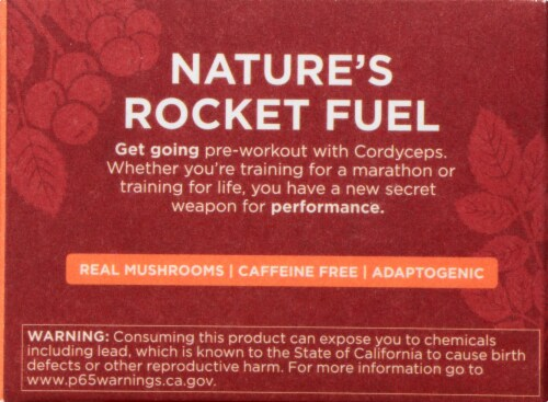 Four Sigmatic Perform Mushroom Elixir Mix with Cordyceps Perspective: left