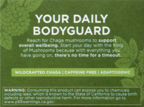 Four Sigmatic Defend Mushroom Elixir Mix with Chaga Packets Perspective: left