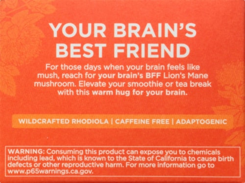 Four Sigmatic Think Mushroom Elixir Mix with Lion's Mane Drink Mix Perspective: left
