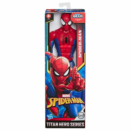 Hasbro Marvel Spider-Man Titan Hero Series Spider-Man Action Figure Perspective: left