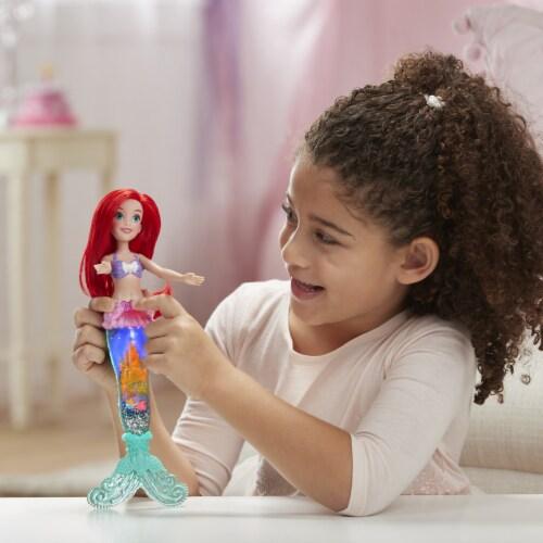 Hasbro Disney Princess Glittle 'n Glow Ariel Doll Perspective: left