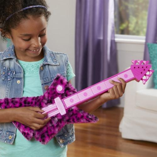 Hasbro DreamWorks Trolls World Tour Poppy's Rock Guitar Perspective: left