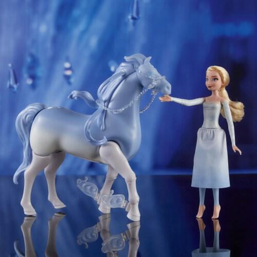 Hasbro Disney's Frozen 2 Elsa and Swim and Walk Nokk Perspective: left