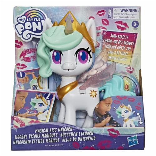 My Little Pony Magical Kiss Unicorn Princess Celestia Doll Perspective: left