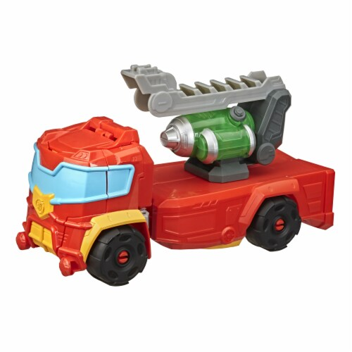 Playskool Heroes Transformers Rescue Bots Academy Hot Shot Action Figure Perspective: left