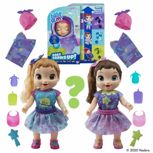 Baby Alive Baby Grows Up Dreamy - Shining Skylar or Star Dreamer Perspective: left
