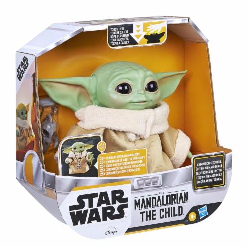 Hasbro Star Wars The Mandalorian The Child Animatronic Figure Perspective: left