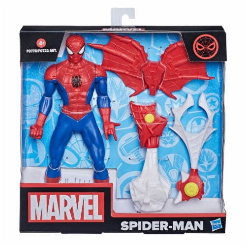 Hasbro Marvel Spider-Man Action Figure and Gear Perspective: left