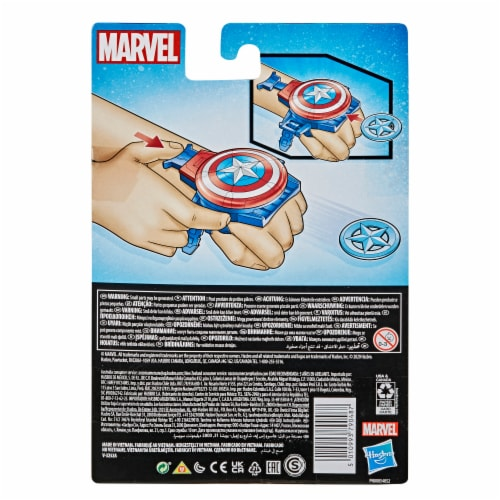 Hasbro Marvel Captain America Super Hero Role-Play Toy Perspective: left