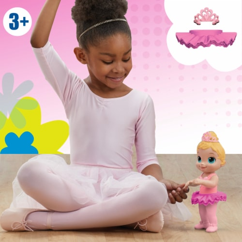 Hasbro Baby Alive Sweet Ballerina Blonde Hair Baby Doll - Pink Perspective: left