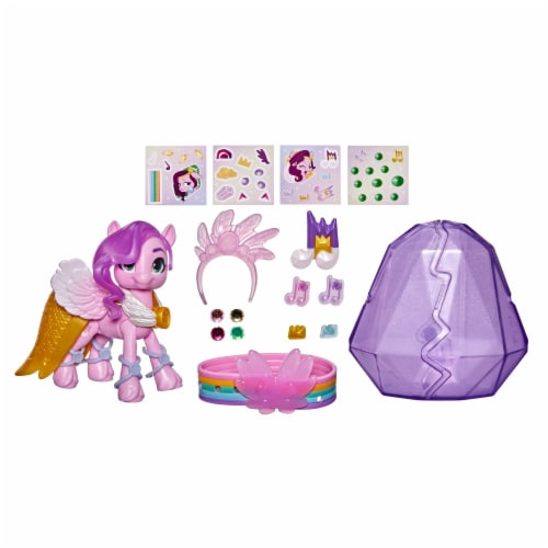 My Little Pony A New Generation Princess Petals Crystal Adventure Set Perspective: left