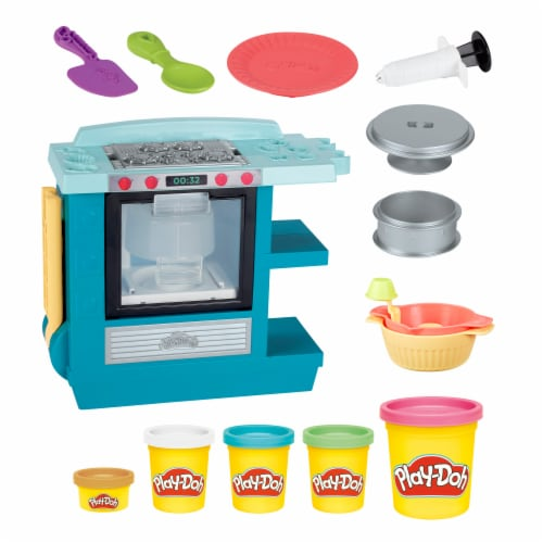 Play-Doh Kitchen Creations Rising Cake Oven Playset Perspective: left