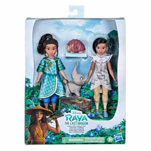 Disney Raya and The Last Dragon Young Raya and Namaari Doll Playset Perspective: left