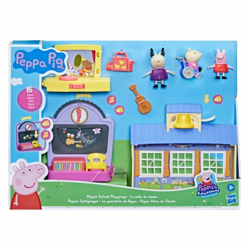 Hasbro Peppa's School Playset Perspective: left