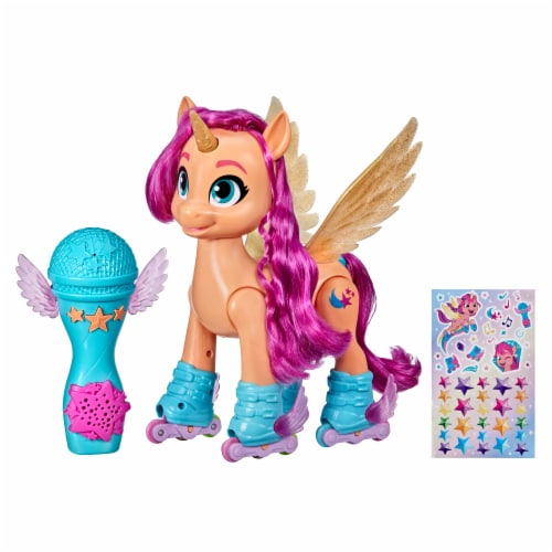 My Little Pony Sing 'N Skate Sunny Starscout Perspective: left