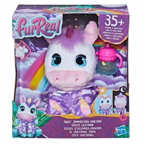 furReal Friends Sweet Jammiecorn Unicorn Plush Perspective: left