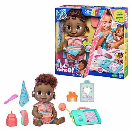Baby Alive Lulu Achoo Doll Perspective: left