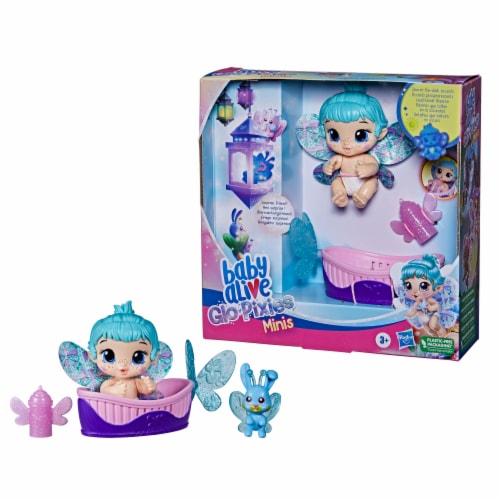 Hasbro Baby Alive Aqua Flutter GloPixies Doll Perspective: left