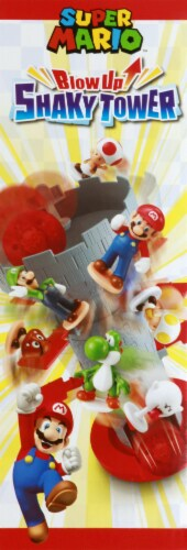 Epoch Super Mario Blow Up Shaky Tower Game Perspective: left