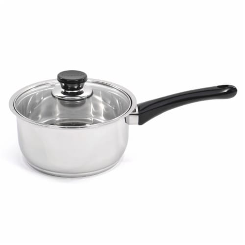 Vision Stainless Steel Cookware Set with Lids Perspective: left