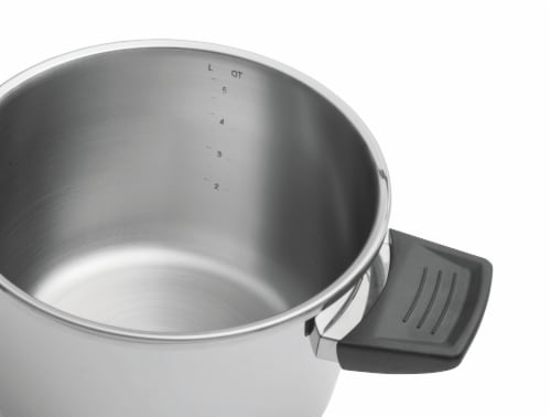 BergHOFF Stainless Steel Pressure Cooker Perspective: left
