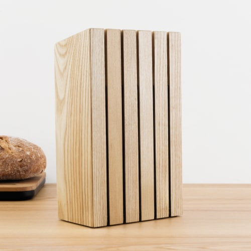 BergHOFF Ron Wooden Knife Block Perspective: left
