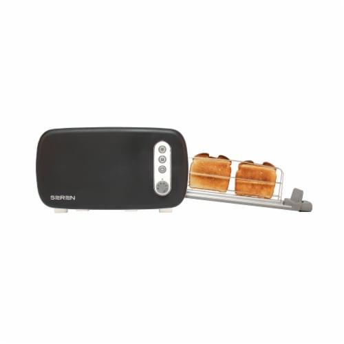 BergHOFF Seren Side Loading Toaster - Black Perspective: left