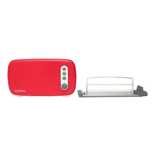 BergHOFF Seren Side Loading Toaster - Red Perspective: left