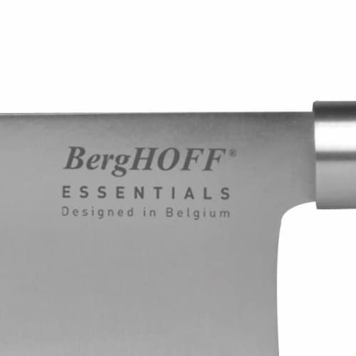 BergHOFF Essentials Stainless Steel Cleaver Perspective: left