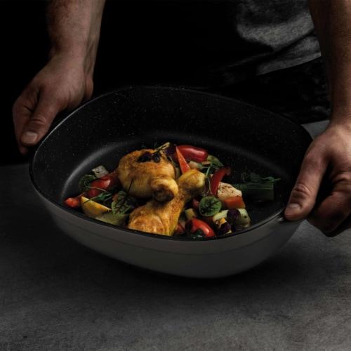 BergHOFF Gem Stoneware Oval Baking Dish Perspective: left