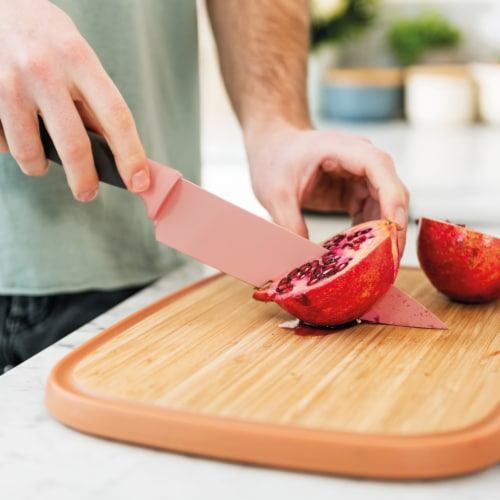 BergHOFF Leo Knife and Cutting Board Set Perspective: left