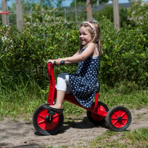 Winther Medium Viking Tricycle - Red Perspective: left