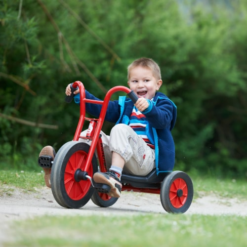 Winther EasyRider Tricycle - Red Perspective: left