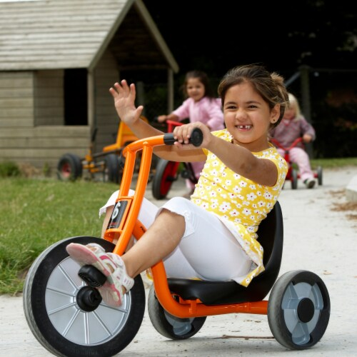 Winther Circleline Easy Rider Tricycle - Orange Perspective: left