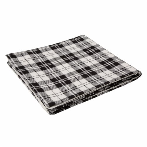 Glitzhome Cotton Quilted Weighted Blanket and Removable Duvet Cover - Shell Perspective: left