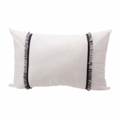 Glitzhome Rhythmic Melody Cotton Comforter Set - 6 Piece - White Perspective: left
