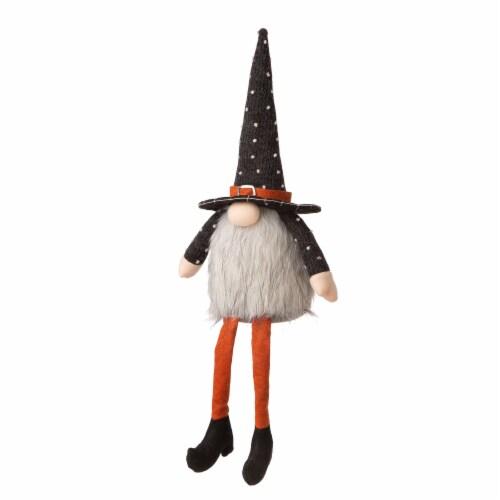 Glitzhome Sitting Fabric Gnome Decor Perspective: left