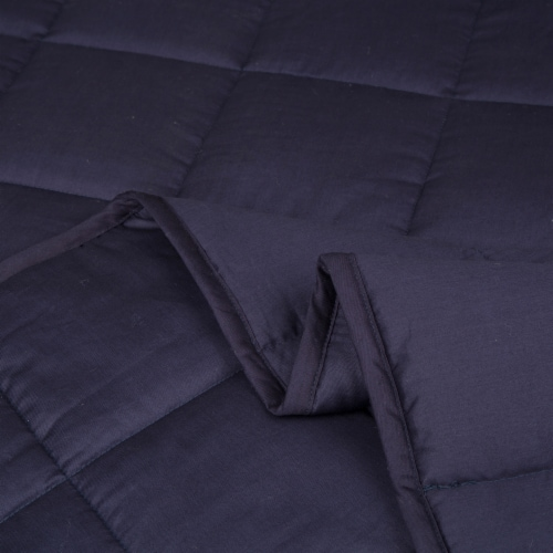 Glitzhome Cotton Quilted Polyester Filled Weighted Blanket Perspective: left