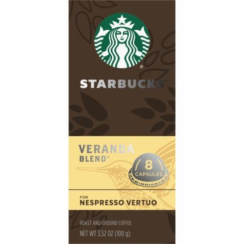 Starbucks Nespresso Veranda Blend Single Serve Coffee Capsules Perspective: left