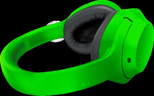 Razer Opus X Green Headphones Perspective: left