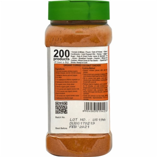 24 Mantra Organic Curry Powder Perspective: left