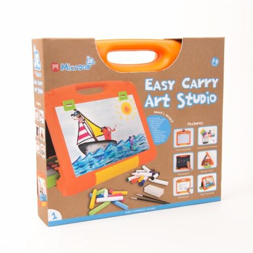 Micador Jr. Early Start Easy Carry Art Studio Perspective: left