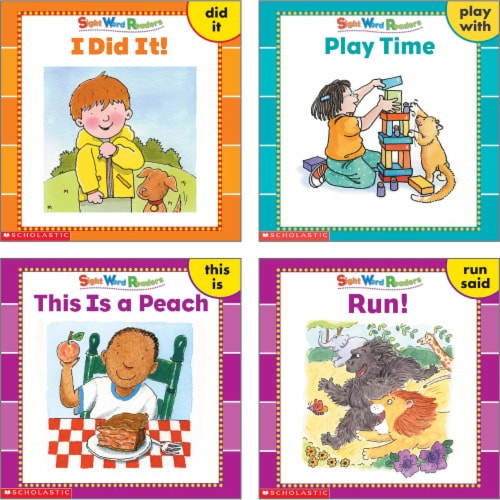 Scholastic Sight Word Readers Box Set Perspective: left