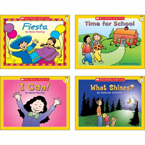 Scholastic Little Leveled Readers Level A Box Set Perspective: left