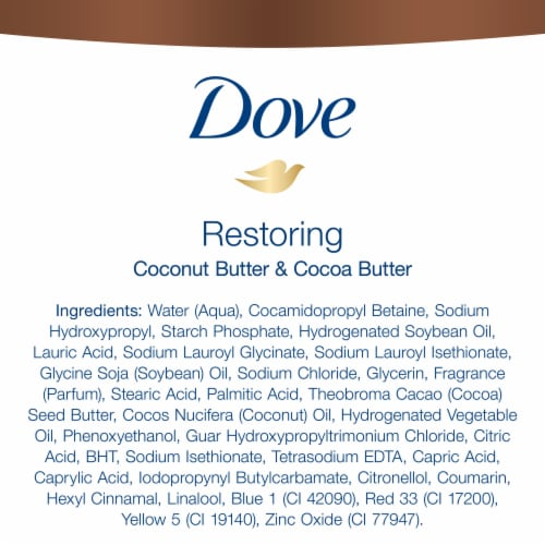 Dove Purely Pampering Coconut Milk & Jasmine Petals Nourishing Body Wash Perspective: left