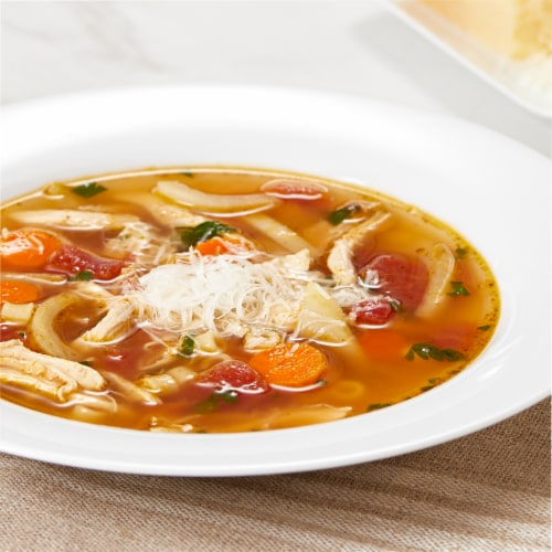 Swanson Unsalted Chicken Broth Perspective: left