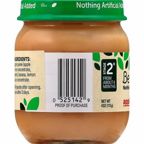 Beech-Nut Apple & Banana Stage 2 Baby Food Perspective: left