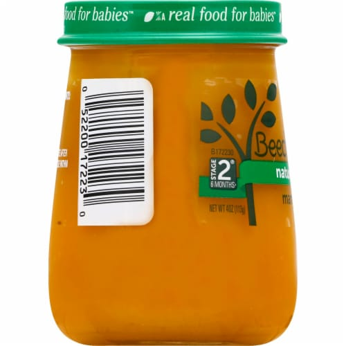 Beech-Nut Naturals Mango Stage 2 Baby Food Perspective: left