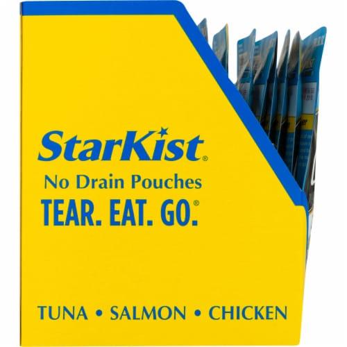 StarKist Chicken Creations Zesty Lemon Pepper Chicken Pouch Case Perspective: left