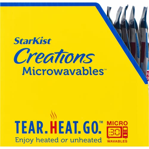 StarKist Creations Microwavables Tunna with Spicy Rice & Beans Perspective: left